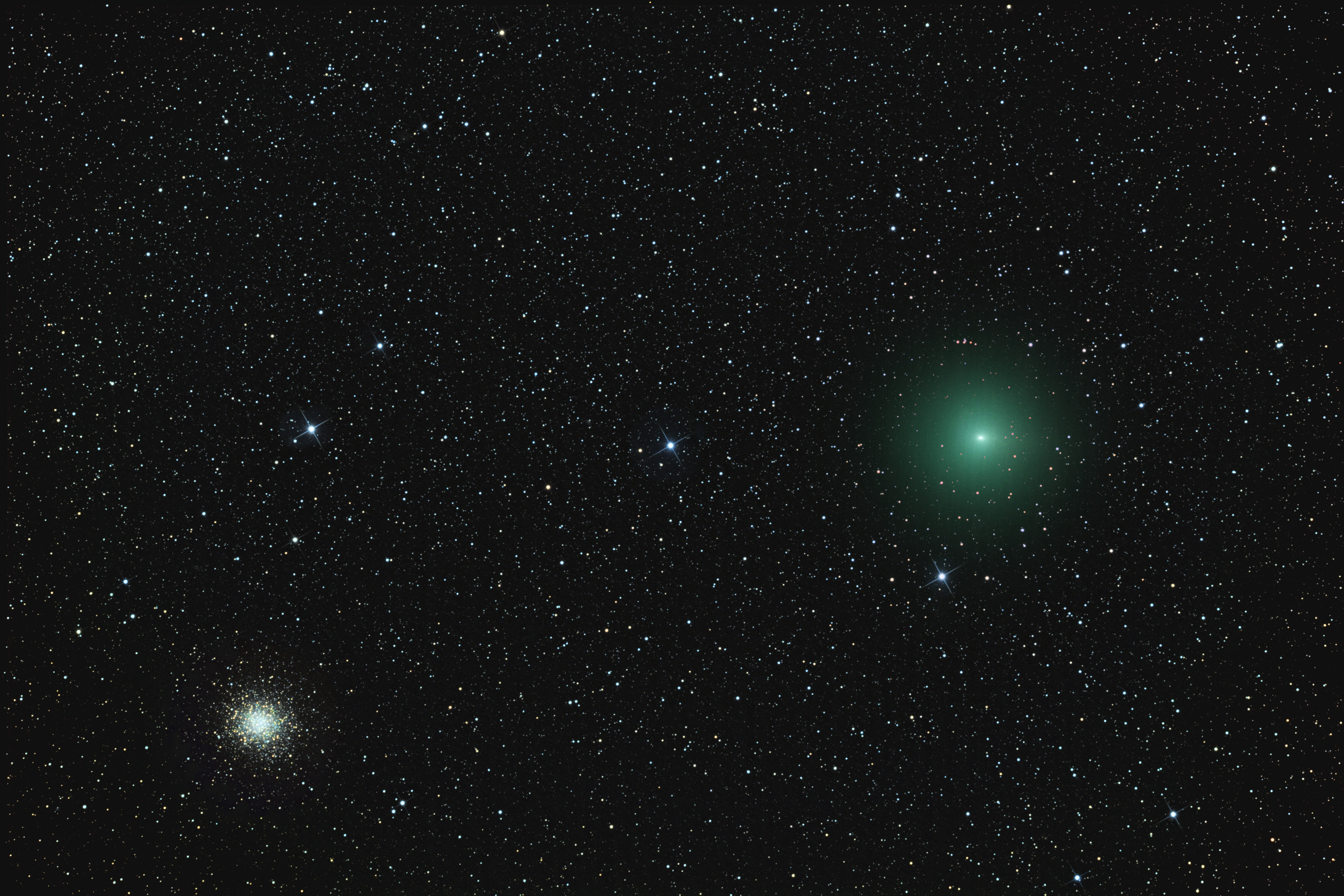 Comet 252P Linear and M14