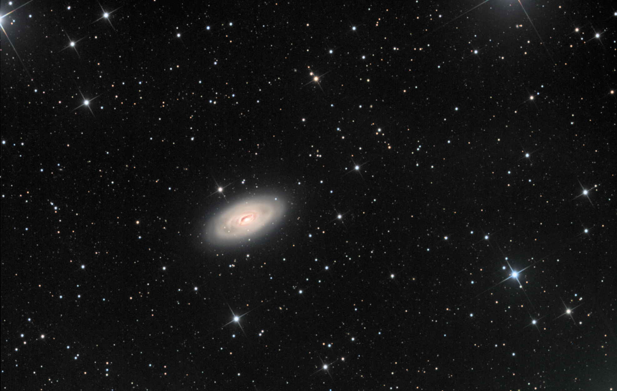 M 64 Galaxy in Coma Berenices